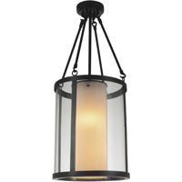 CWI Lighting 9804P12-2-115 Danielle 2 Light 12 inch Oil Rubbed Brown Pendant Ceiling Light