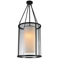CWI Lighting 9804P16-2-115 Danielle 2 Light 16 inch Oil Rubbed Brown Candle Chandelier Ceiling Light