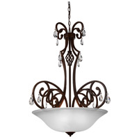 CWI Lighting 9805P30-5-113 Shakira 5 Light 30 inch Dark Bronze Chandelier Ceiling Light