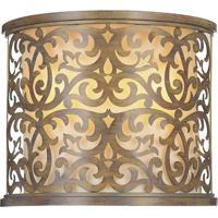 CWI Lighting 9807W13-2-116 Nicole 2 Light 6 inch Brushed Chocolate Wall Sconce Wall Light