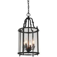 CWI Lighting 9809P11-4-109 Desire 4 Light 11 inch Oil Rubbed Bronze Pendant Ceiling Light