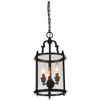 CWI Lighting 9809P9-3-109 Desire 3 Light 9 inch Oil Rubbed Bronze Pendant Ceiling Light