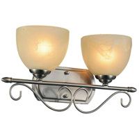 CWI Lighting 9813W17-2-606 Selena 2 Light 17 inch Satin Nickel Wall Sconce Wall Light