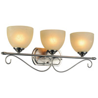 CWI Lighting 9813W25-3-606 Selena 3 Light 25 inch Satin Nickel Wall Sconce Wall Light