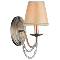 Paulie 1 Light 6 inch Satin Nickel Wall Sconce Wall Light