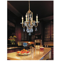 CWI Lighting 9836P17-4-125 Electra 4 Light 17 inch Oxidized Bronze Up Chandelier Ceiling Light