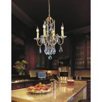 CWI Lighting 9836P17-4-125 Electra 4 Light 17 inch Oxidized Bronze Chandelier Ceiling Light