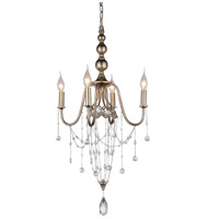 Speckled Nickel Metal Chandeliers
