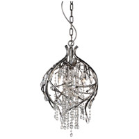 CWI Lighting 9842P14-3-184 Mackay 3 Light 14 inch Speckled Nickel Pendant Ceiling Light