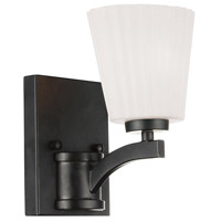 Valencia 1 Light 6 inch Black Wall Sconce Wall Light