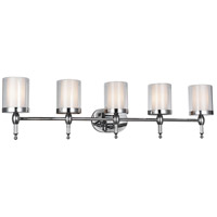 CWI Lighting 9851W43-5-601 Maybelle 5 Light 6 inch Chrome Wall Sconce Wall Light