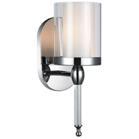 CWI Lighting 9851W5-1-601 Maybelle 1 Light 6 inch Chrome Wall Sconce Wall Light