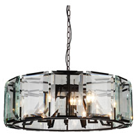 Jacquet 18 Light 43 inch Black Chandelier Ceiling Light