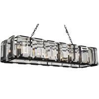 CWI Lighting 9860P55-14-101 Jacquet 14 Light 16 inch Black Chandelier Ceiling Light