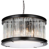 Black Glass Mira Chandeliers