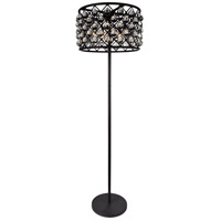 Renous 72 inch 60 watt Black Floor Lamp Portable Light