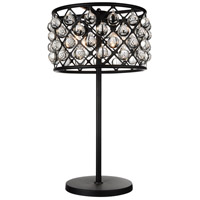 Renous 32 inch 60 watt Black Table Lamp Portable Light