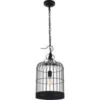 CWI Lighting 9866P12-1-101 Merrie 1 Light 12 inch Black Pendant Ceiling Light