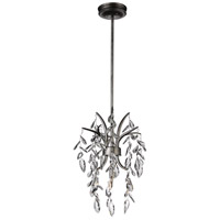 CWI Lighting 9885P11-1-183 Napan 1 Light 11 inch Silver Mist Pendant Ceiling Light