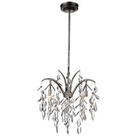 CWI Lighting Metal Napan Chandeliers