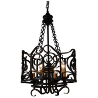 CWI Lighting Metal Branch Chandeliers