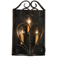 CWI Lighting 9888W10-3-122 Branch 3 Light 4 inch Autumn Bronze Wall Sconce Wall Light
