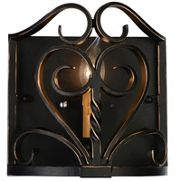 CWI Lighting 9888W9-1-122 Branch 1 Light 4 inch Autumn Bronze Wall Sconce Wall Light