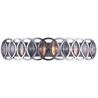 CWI Lighting 9894W32-5-224 Attis 5 Light 32 inch Gun Metal Wall Sconce Wall Light