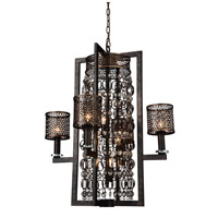 CWI Lighting 9901P27-8-185 Pollett 8 Light 27 inch Golden Bronze Chandelier Ceiling Light