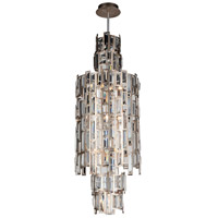 Quida 10 Light 14 inch Champagne Pendant Ceiling Light