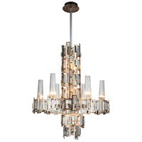 Quida 12 Light 24 inch Champagne Chandelier Ceiling Light