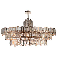 CWI Lighting 9903P44-21-193 Quida 21 Light 44 inch Champagne Chandelier Ceiling Light