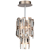CWI Lighting 9903P6-3-193 Quida 3 Light 6 inch Champagne Pendant Ceiling Light