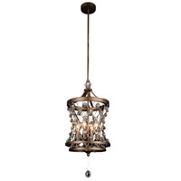 Tieda 4 Light 12 inch Speckled Bronze Pendant Ceiling Light