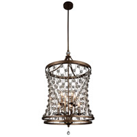 Speckled Bronze Stainless Steel Chandeliers