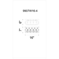 Speckled Bronze Stainless Steel Wall Sconces