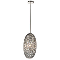 CWI Lighting 9908P10-3-606 Wallula 3 Light 10 inch Satin Nickel Mini Pendant Ceiling Light