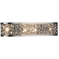 CWI Lighting 9908W26-4-606 Wallula 4 Light 26 inch Satin Nickel Wall Sconce Wall Light