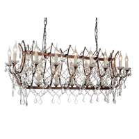 Phraya 24 Light 58 inch Light Brown Pendant Ceiling Light