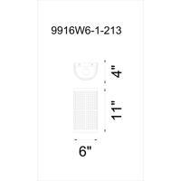 CWI Lighting 9916W6-1-213 Quinn 1 Light 4 inch Gray Wall Sconce Wall Light