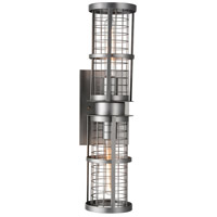 CWI Lighting 9930W6-2-209 Manito 2 Light 7 inch Pewter Wall Sconce Wall Light