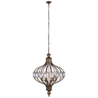 CWI Lighting 9935P14-3-182 Altair 3 Light 14 inch Antique Bronze Chandelier Ceiling Light