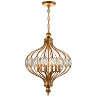 CWI Lighting Antique Bronze Chandeliers