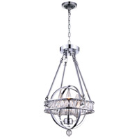 CWI Lighting Chrome Chandeliers
