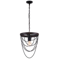 CWI Lighting Black Chandeliers