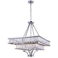CWI Lighting 9972P23-8-601 Shalia 8 Light 23 inch Chrome Chandelier Ceiling Light