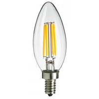 Signature Incandescent E12/Candelabra 4.5 watt 120V 2700K Light Bulb