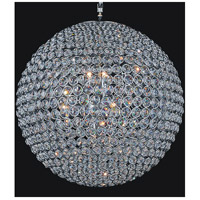 CWI Lighting QS8353P32C Globe 20 Light 32 inch Chrome Chandelier Ceiling Light