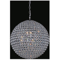 CWI Lighting QS8353P40C Globe 26 Light 40 inch Chrome Chandelier Ceiling Light