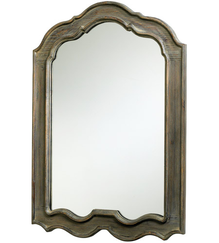 Distressed Gray Wood Mirrors